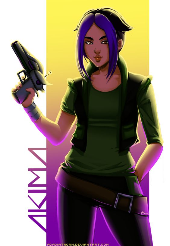Obscure Fandoms Time: Akima from Titan A.E. by =Acaciathorn on deviantART