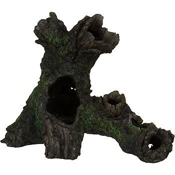 20 petco petco large tree log aquatic decor petco for Aquatic decoration