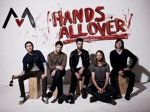 hands allover