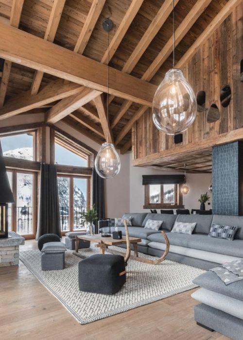 Moderne Chalets So Gelingt Der Style In 2020 Outdoor Dekorationen Wohnen Schoner Wohnen