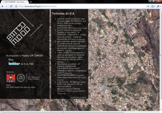 Sítio da web da edição 2009