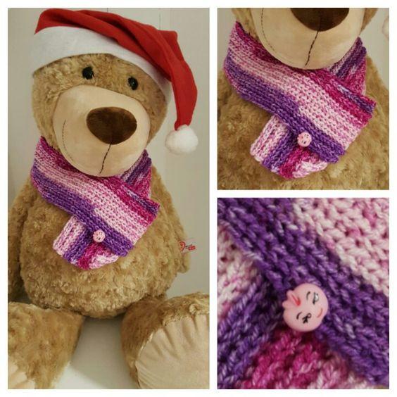 Beerenfarbener baby / Kinder - schal gehäkelt (lila rosa pink) ♡ baby scarf crochet ♡