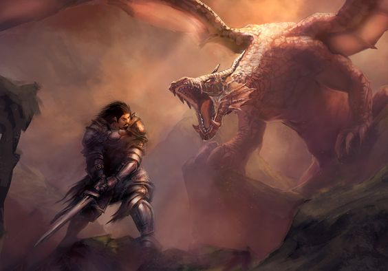 The Knight and the Dragon by mattforsyth on DeviantArt