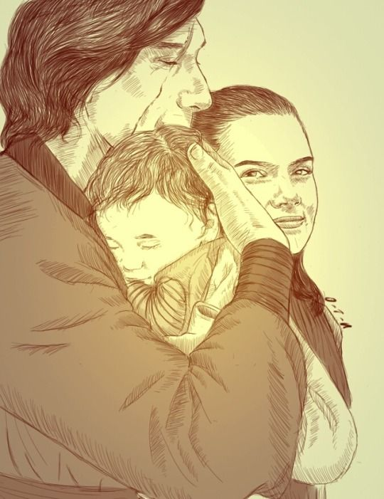 Ben And Rey S Baby This Is Too Cute They Have To Get Married Have Kids Star Wars Art Star Wars Fan Art Rey Star Wars