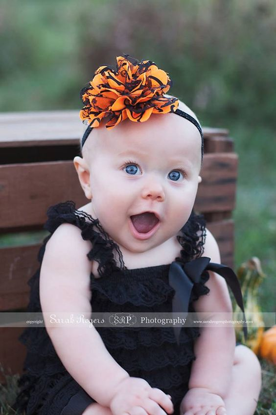 SALE+Halloween+Headband+Lace+Tulle+Fluff+by+ShabbyFlowerBowtique,+$6.99