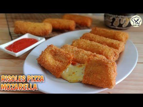 Resep Risoles Pizza Keju Mozarella Super Enak Kejunya Mulur Lumer Dimulut Youtube Keju Pizza Keju Resep