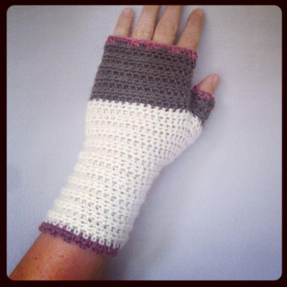 Modèle pour / Patron pour des gants d'Atelier / mitaines sans doigts sur Etsy, $5.20 CAD
