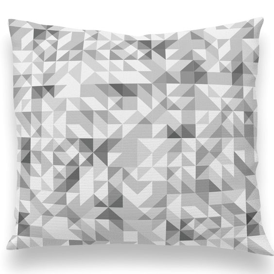 Triangles! A bunch of new pillow styles just out since our West Elm Brooklyn pop-up event. Pillow inserts in all sizes available as well. Let us known if you have a custom color idea.