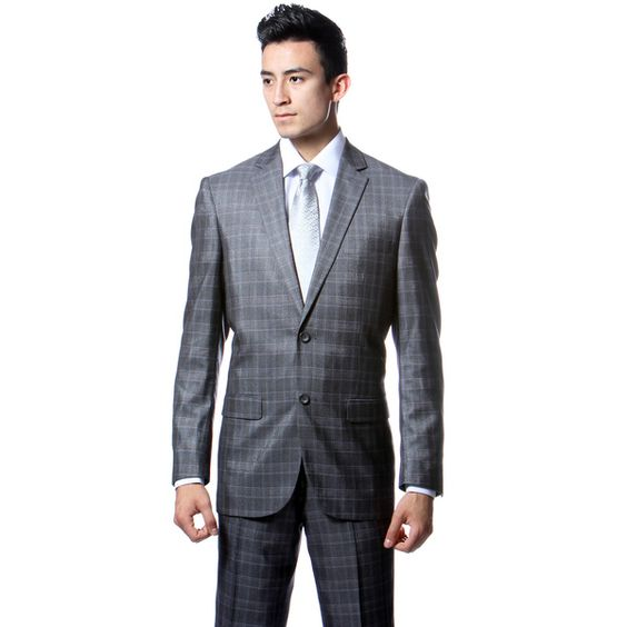 New 1920s Mens Suits and Sport Coats | Plaid, Plaid suit and Grey