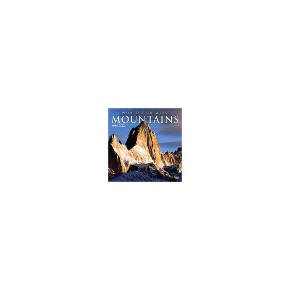 Worlds Greatest Mountains 2016 Calendar