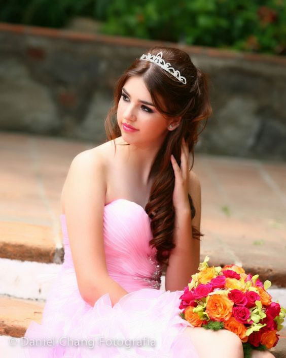 She's so pretty!!!! Quinceanera XV  Daniel Chang blog-3769