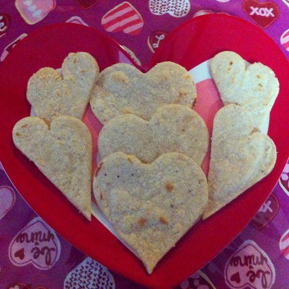 Heart tortillas de maiz