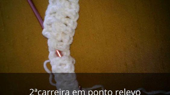 Casaquinho Gustavo em Crochet - 2ªParte