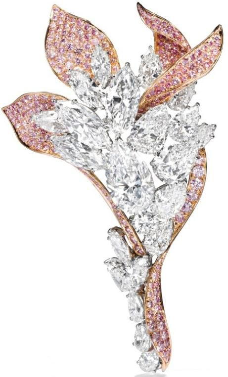 Harry Winston brooch.: Jewelry News, Jewelry Pink, Beautiful Jewelry, Earrings Broaches, Jewelry Passion, Diamond Earrings, Brooches Jewelry, Designer Jewelry