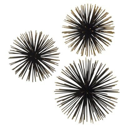 Sea Urchin Ornamental Wall D 233 Cor Metal Walls Wall Decor