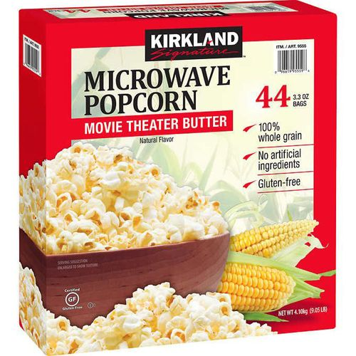 kirkland signature microwave popcorn 44
