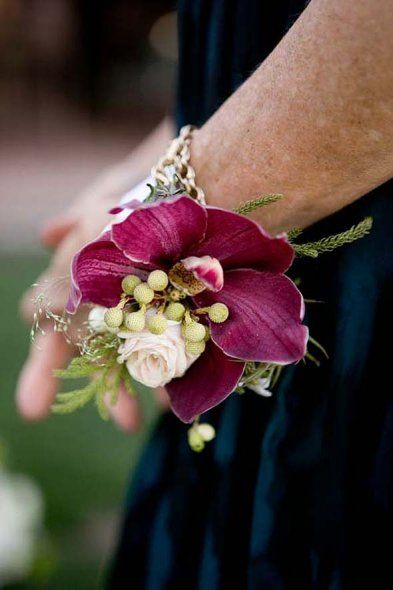 Cymbidium Orchid Wrist Corsages: Mothers And Grandmothers Will Wear Wrist Corsages Of