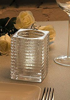 Check out the deal on Clear Glass Votive Holder Ribbed Design - 3.75 Inch at Battery Operated Candles