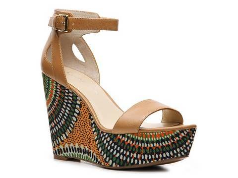 Bandolino Lorina Wedge Sandal Womens Wedge Sandals All Womens Sandals Sandal Shop - DSW