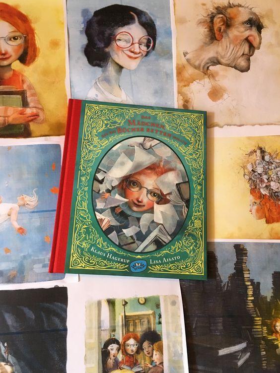 Das Mädchen, das die Bücher retten wollte von Klaus Hagerup und Lisa Aisato