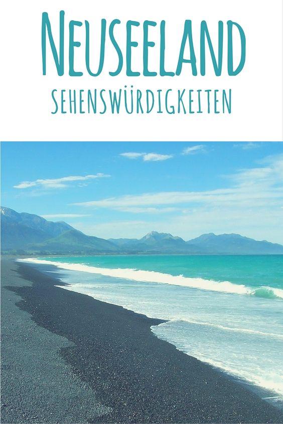 Strand von Kaikoura. Lies weiter in meinem Reiseblog: Neuseeland - Reisetipps, Routenvorschläge & Sehenswürdigkeiten