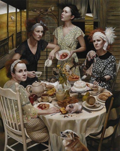 50+ Contoh Lukisan Realisme Terbaru 26
