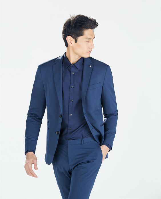 Image 2 of DARK BLUE SUIT from Zara | Sleek Men's Style