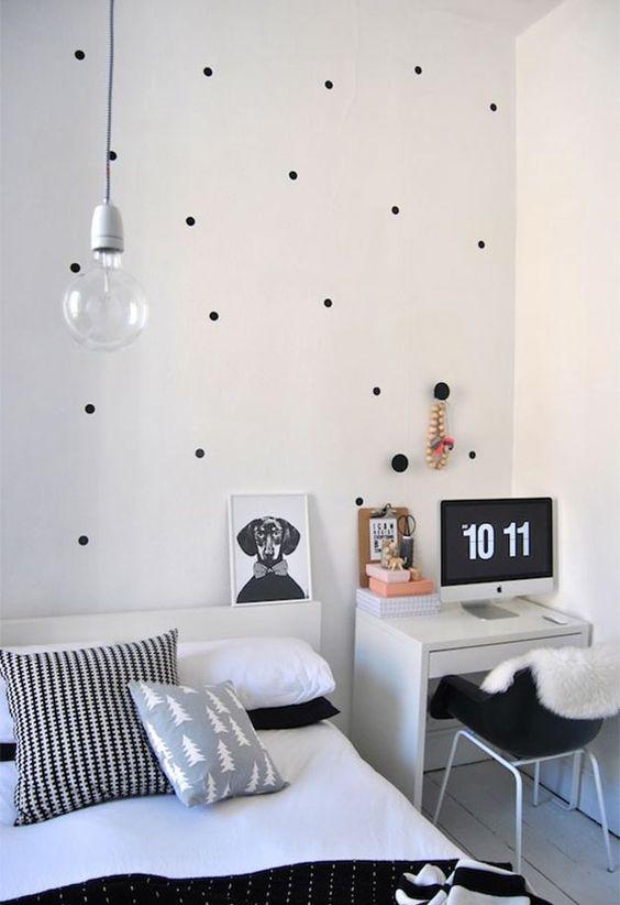 26 ambientes em preto e branco que fazem sucesso no Pinterest - Casa: