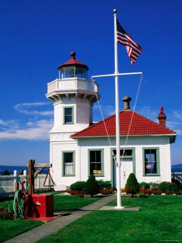 Mukilteo Lighthouse, Mukilteo, Washington. 2 Minutes Away From The Hilton  Garden Inn Seattle