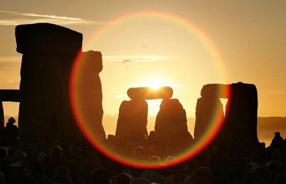Summer solstice at Stone Henge