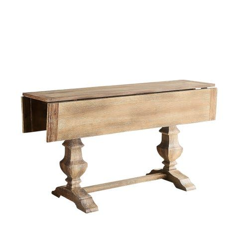 Traditional Meets Subtle Rustic For Casual Or Formal Dining Crafted With Hardwoods Our Handsome Bradding Dr Drop Leaf Sofa Table Drop Leaf Table Dining Table