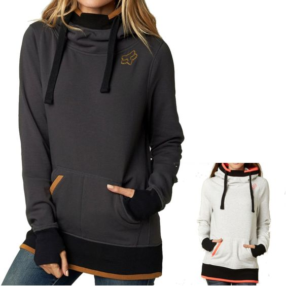 Fox Racing Perimeter Women's Ladies Fall Casual Pullover Top Sweatshirt Hoodie