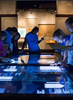 Explore the National Archives Museum.