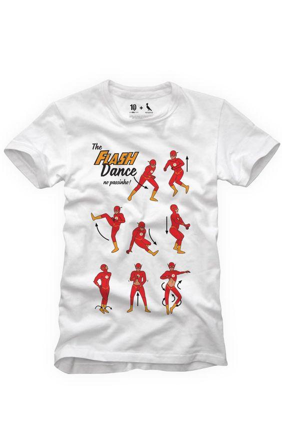T-SHIRT PASSINHO FLASH DANCE | As Roupas Masculinas mais incríveis estão na Reserva