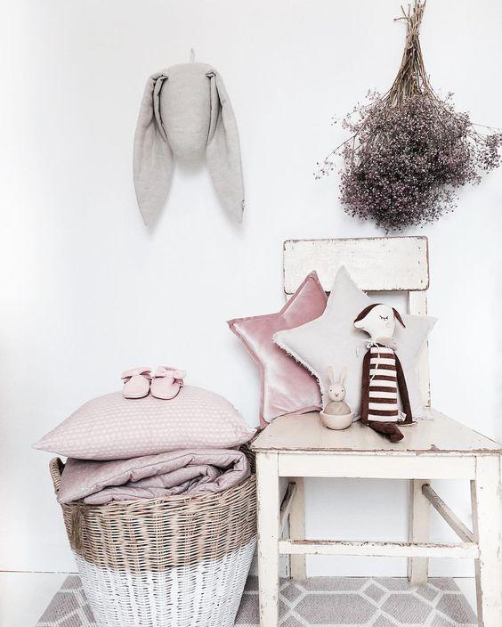 #Nordic style to #girlsroom: