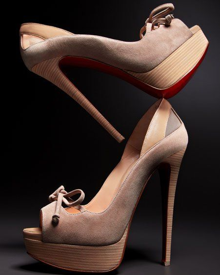 Louboutins: Red Bottoms, Christian Louboutin Shoes, Ladies Shoes, High Heels, Women S Shoes, Ballet Shoe, Shoes Shoes