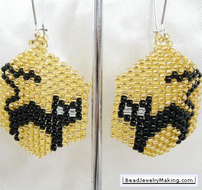 Free Seed Bead Earring Patterns jewelry making tips free bead patterns 2