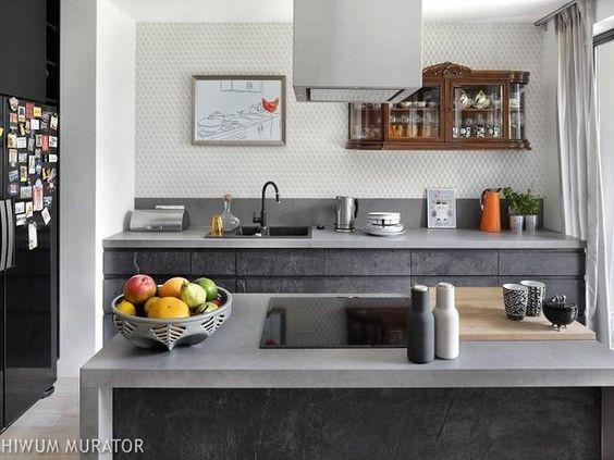 Nowoczesna Kuchnia Bez Gornych Szafek Nietypowy Projekt Kuchni Inspiracje Kitchen Design Modern Kitchen Best Kitchen Designs