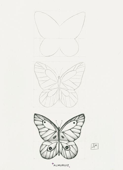 Mariposa Mariposas Dibujos A Lapiz Como Dibujar Mariposas Mariposas A Lapiz
