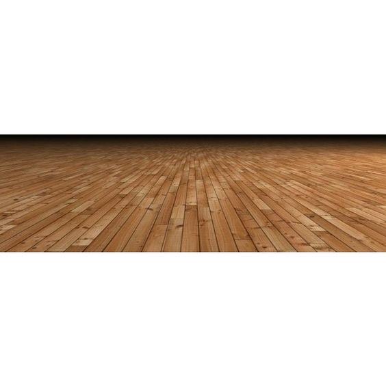 Wooden Floor Against Dark Room ❤ liked on Polyvore featuring floors
