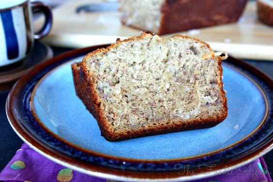 Coconut Banana Bread - The Foodie Affair