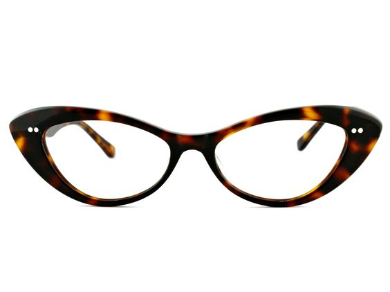 """Old Focals """"Jessica"""" - undoubtedly too large for my face but way cute."""