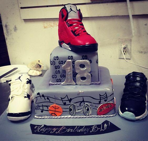 Jordan cake. Extravagant Cakes Pinterest Jordans and ...