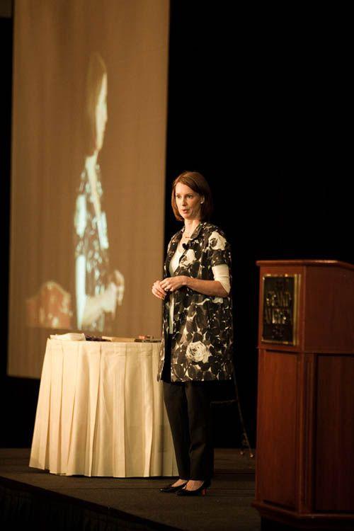 keynote speaker, Gretchen Rubin
