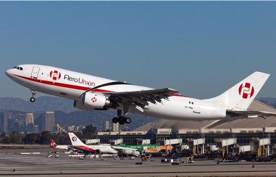 AeroUnion (Aerotransporte de Carga Unión) Mexico, all cargo airline - Airbus A300F freighter - via PJ de Jong