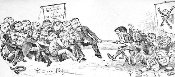 Cartoon image-people playing-boomermarketing