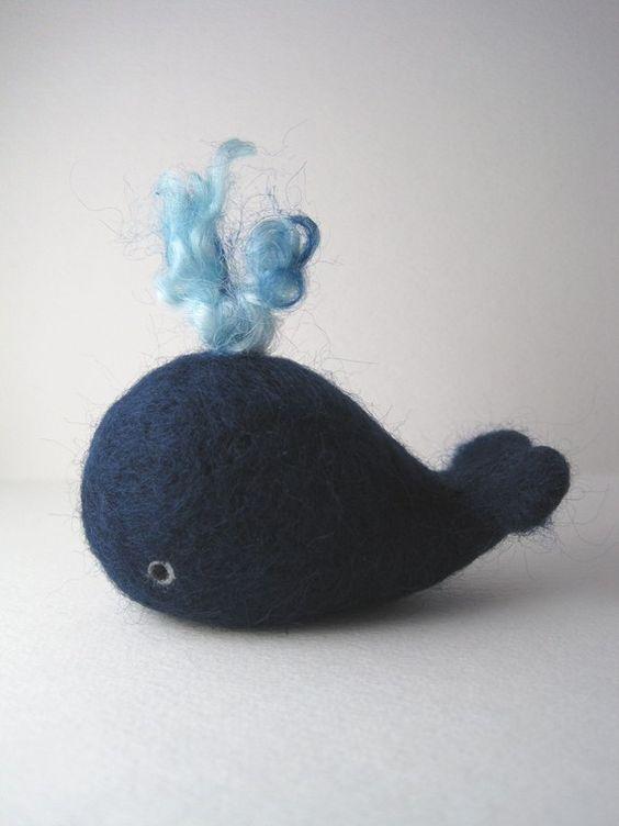vilt een walvis