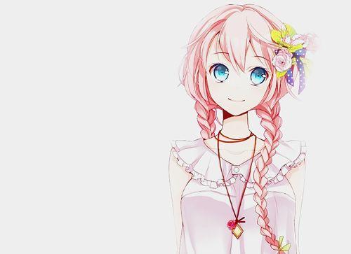 Mangas Animes Ilustraciones, Imágenes Anime, Varios, Draws, Animado Niña De Pelo Rosa, Anime Girl S, Muchachas Del Pelo, Chicas De Anime De Fantasía, Anime