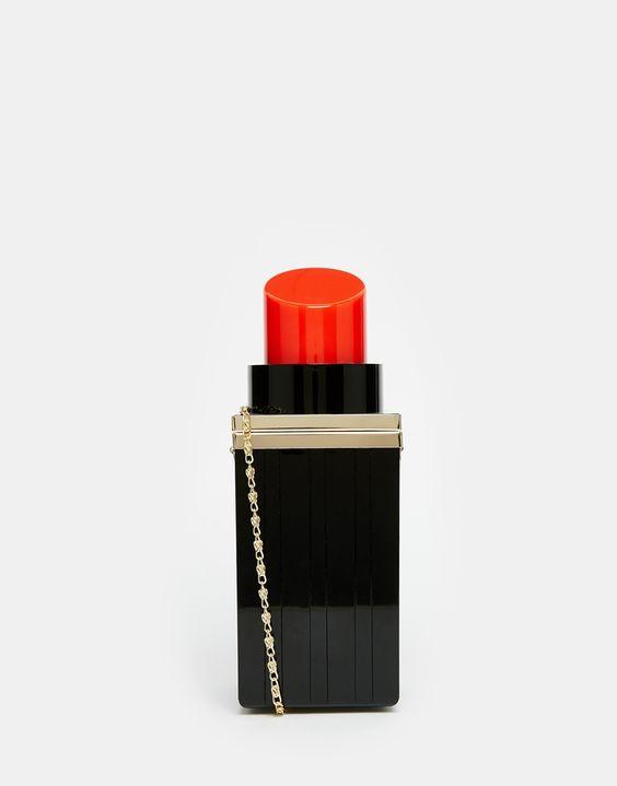 Bild 1 von ASOS – Lipstick – Umhängetasche