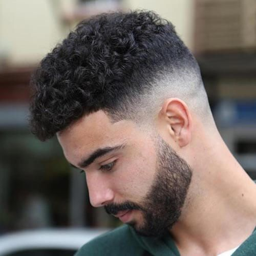 50 Short Hairstyles For Men Unique Neat Styles Curly Hair Men Curly Hair Fade Haircuts For Curly Hair